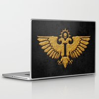 warhammer Laptop & iPad Skins featuring Senatorum Imperialis by Imperial Diet