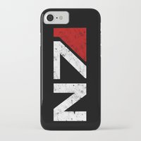 n7 iPhone & iPod Cases featuring N7 by adho1982
