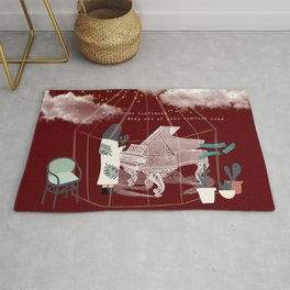 Step Out of Your Comfort Zone 2 Rug