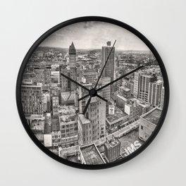 Dayton Panorama 1978 Wall Clock