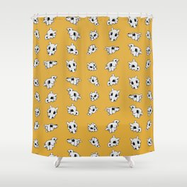 cubone helms Shower Curtain
