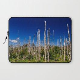 Cape Breton Seaside Treescape Laptop Sleeve