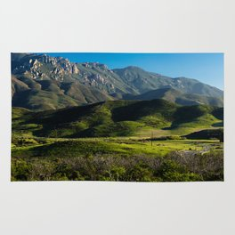 Boney Mountain,CA. Rug