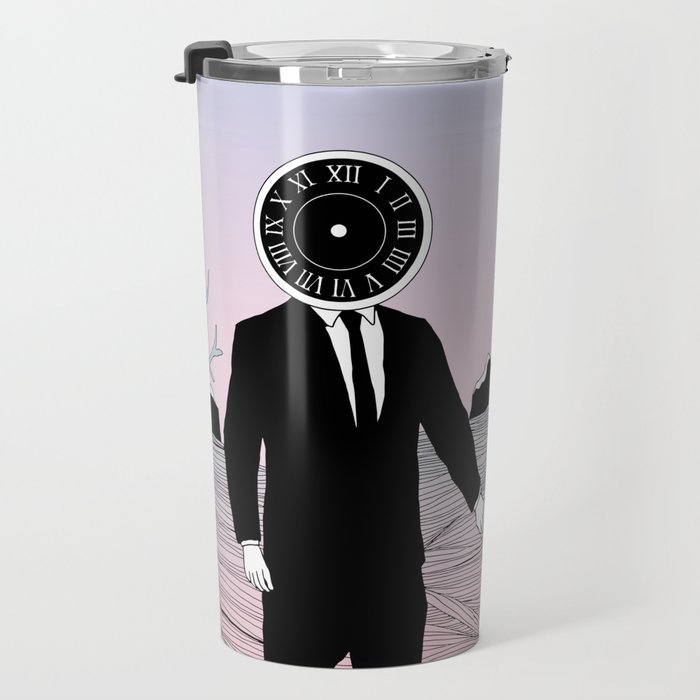 Time and Journey (To a Place I've Never Been Before) Travel Mug