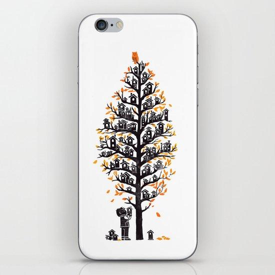 Hoot Lodge iPhone & iPod Skin