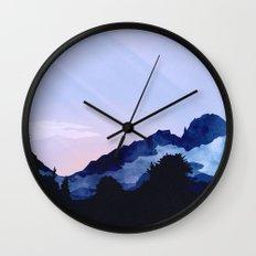Sunny Rise Wall Clock