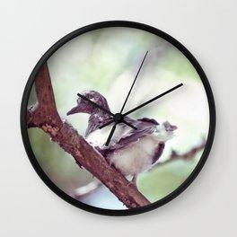 BABY DOVE Wall Clock