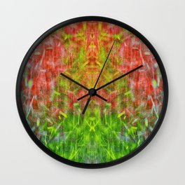 Hot Summer Rain Wall Clock