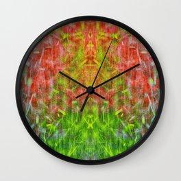 Hot Summer Rain Wall Clock