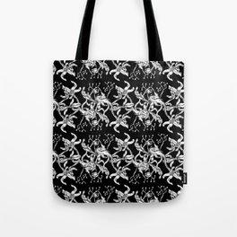 Pattern: Dark Floral II Tote Bag