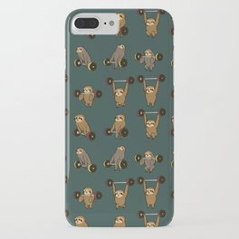 OLYMPIC LIFTING SLOTHS iPhone Case