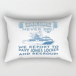 Sailors Rectangular Pillow
