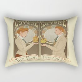 Lutece Twins Nouveau Rectangular Pillow