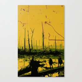 WWI Woods Canvas Print