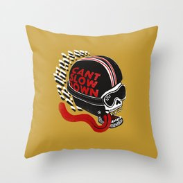 Can't Slow Down Throw Pillow