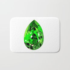 GEMS - green , expensive look , luxury and shine Bath Mat