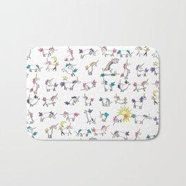 Lovely Little Unicorns Bath Mat