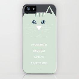 I <3 cats iPhone Case