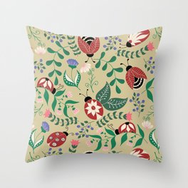 Buttefly pattern Throw Pillow