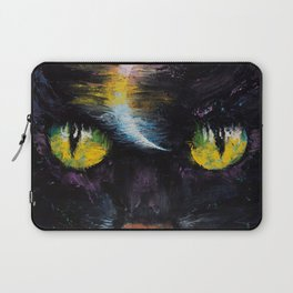 Moon Cat Laptop Sleeve