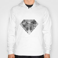 diamond Hoodies featuring Diamond by fyyff