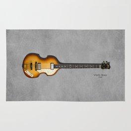 Violin Bass 1962 Rug