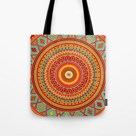 Mandala Aztec Pattern Tote Bag