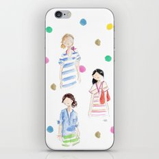 J Crew Summer Girls iPhone & iPod Skin