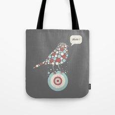 Bubble-Bird Tote Bag
