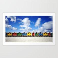 Muizenberg Beach Art Print
