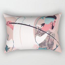 Sir Fish Rectangular Pillow