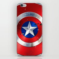 daenerys iPhone & iPod Skins featuring SHIELD by Smart Friend