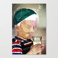 milk Canvas Prints featuring Milk by Alvaro Tapia Hidalgo