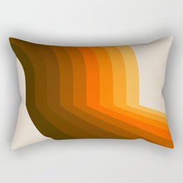Golden Halfbow Rectangular Pillow
