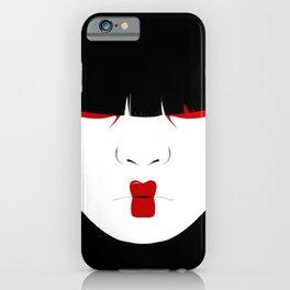 Modern Geisha #2 iPhone Case
