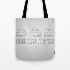 This Time It's War Tote Bag