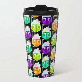 Boba Fett Bowba Fett, Mandalorian, Bounty Hunter Bright Colors Travel Mug