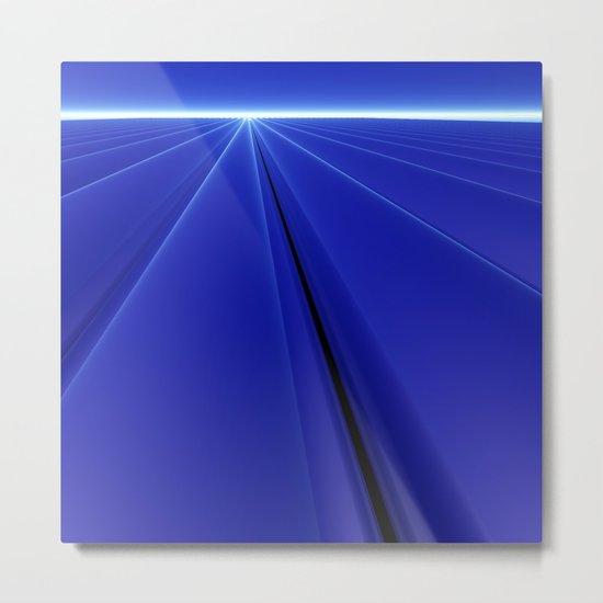 Blue Dawn Metal Print