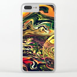 Waves in the sea Clear iPhone Case