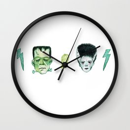 Frank and Bride Wall Clock