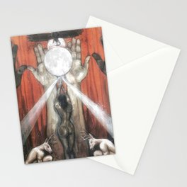 Rise // Feminism Feminist Women Empowerment Girl Power Goddess Strength Energy Matriarchy Feminine Stationery Cards