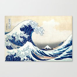 The Great Hokusai Wave Canvas Print