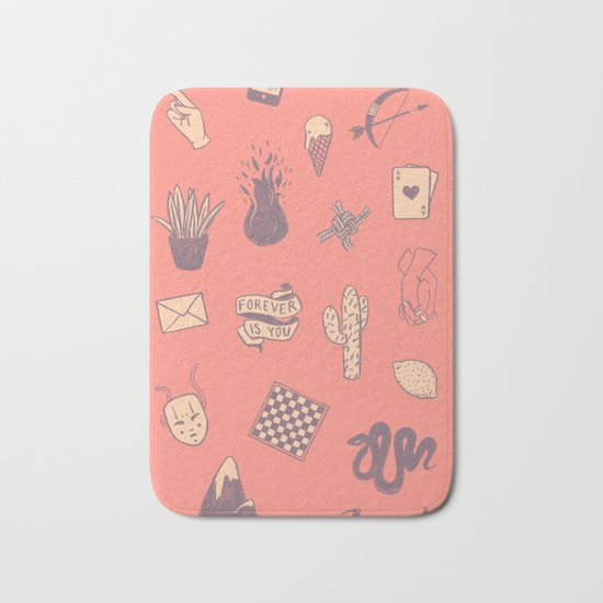 This Is Not A Love Story Bath Mat