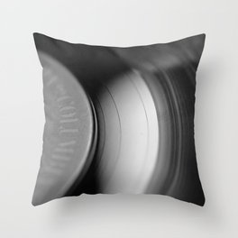 33&1/3-RPM Throw Pillow