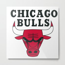 original logo chicago team Metal Print