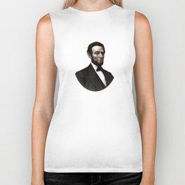 President Abraham Lincoln Biker Tank