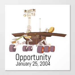 Opportunity Rover Canvas Print