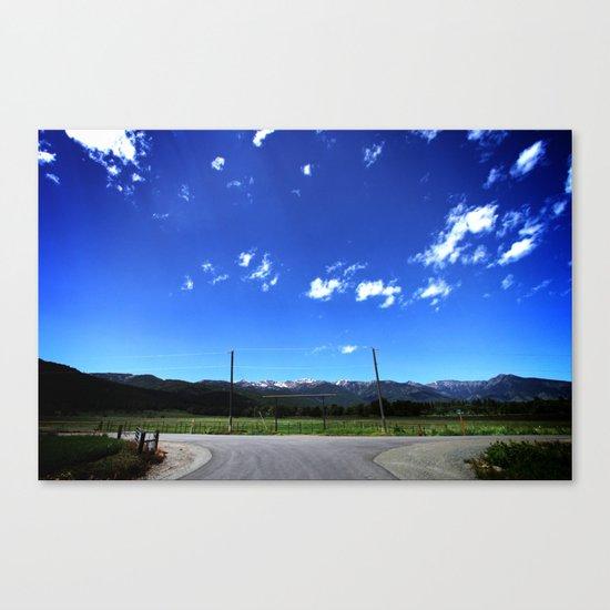 The Range Canvas Print