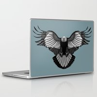 eagle Laptop & iPad Skins featuring Eagle by Schwebewesen • Romina Lutz