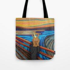 Scream Unicorn Tote Bag